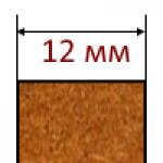 МДФ плиты толщиной 12 мм