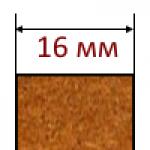 МДФ плиты толщиной 16 мм