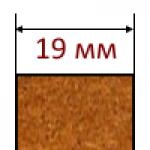 МДФ плиты толщиной 19 мм