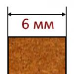 МДФ плиты толщиной 6 мм