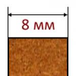 МДФ плиты толщиной 8 мм