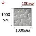 Пенопласт (Пенополистирол) ПСБ-С-25Ф 100x1000x1000mm