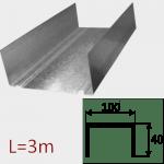 Профиль ПН-6 100/40 L=3м