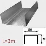 Профиль ПС 50/50 L=3м