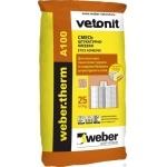 Клеевая смесь Weber A100